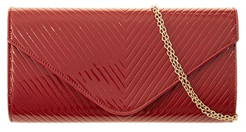 Girly HandBags , Damen Clutch Rot rot -
