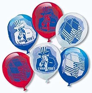 ballons Oncle Sam 6 St.