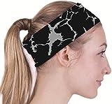 COOLOMG Sport Stirnband Headband Damen Herren Schweißsaugfähig Elastisch für Running Yoga Fitness Radsport