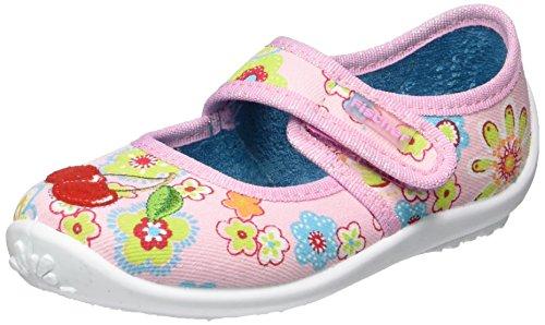 Fischer Nelly, chaussons d'intérieur fille Mehrfarbig (rosebunt)