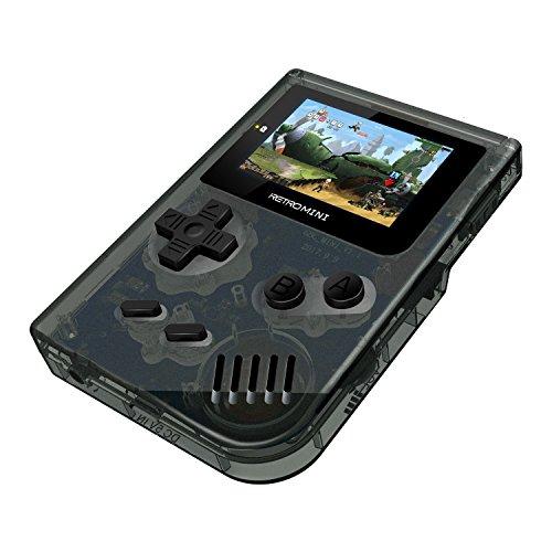 Anbernic Handheld Spielkonsole , Retro Spielkonsole Game Console 2.0 Zoll 1219 Klassische Spielkonsole für Kinder Geschenk - Transparente weiße (Nintendo Watch And Game)
