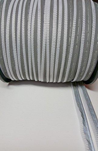 3-lfm-reflektierendes-band-zum-einnhen-paspelband-10-mm-breit-6mm-reflektion-4mm-zum-einnhen-in-wei-