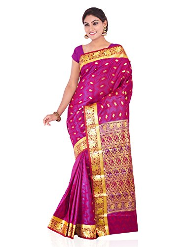 Roopkala Silks & Sarees Silk Saree (Vs-703_Pink)
