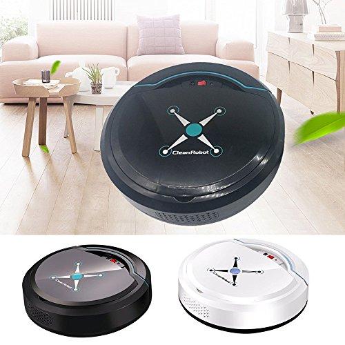 Altsommer USB Staubsauger Roboter(Ungefähr 16 Stunden Laufzeit) für Möbel, Sofas, schwer in Anderen Bereichen zu Reinigen,Flexibel,Ultra Saugroboter für Einfache Bedienung,Weiß (Weiß)