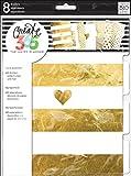 Unbekannt Me & My Big Ideas Create 365 Kunststoff-Facheinsätze, goldfarben