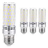 Sauglae E27 Lampadina di Mais LED 15W, Bianca Calda 3000K, Equivalente a Lampadine a Incandescenza 120W, 1500 Lumen, Lampadine a LED a Vite Edison, 4-Pack