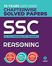 SSC Chapterwise Solved Papers Reasoning 2018