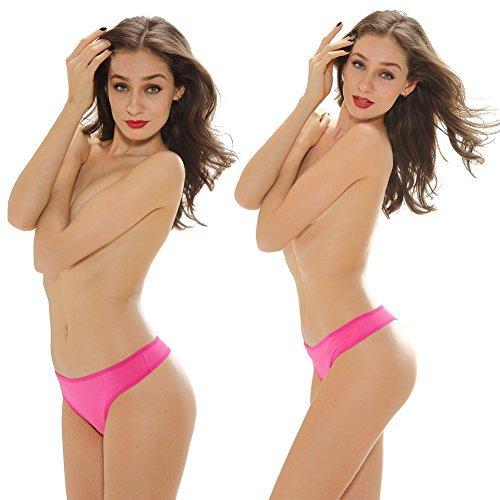 Frauen Sexy Baumwollzapfen Intimate Slips Tangas Damen Panties Mulit Pack Größe: 38-48 Mehrfarbig