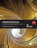 Matemáticas orientadas a las enseñanzas académicas. 3 ESO. Savia. Trimestres  - Pack de 3 libros - 9788467582932