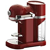 KitchenAid 5KES0503EER/4 Nespresso Kaffeeautomat Serie Artisan, empire rot