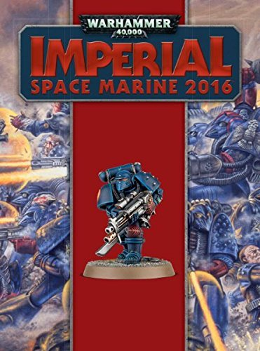 Warhammer 40K Imperial Space Marine 2016 by Games Workshop Warhammer 40K