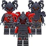 LEGO Ninjago 3er Figurenset - Vermillion Krieger - in Geschenkbox