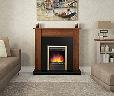 "BeModern Group ""BK and HTH Bromley C/W Ventris Brass"" Fireplace"