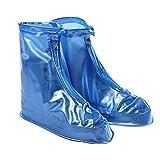 West Cyclisme réutilisable étanche Couvre-chaussures de pluie neige Bottes épaisse Semelle Antidérapante Chaussures pour hommes femmes Chaussures (Blanc, Bleu, Marron, Rose), Homme Enfant femme, marron, grand