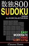 Sudoku: 800 Sudoku Puzzles ALL-IN-ONE Collection Book: Volume 1