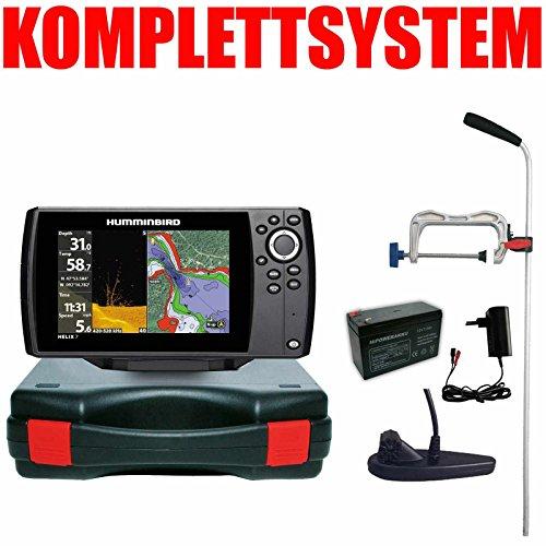 Humminbird Echolot GPS Portabel Profi - Helix 7 Chirp GPS Mega DI G3