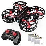 SNAPTAIN H823H Plus Mini Drone per Bambini, Funzione Lancia & Vola, Quadricottero Funzione Hovering, 3D Filp, modalità Headless, velocità Regolabile Buon Regalo di Natale per Principianti