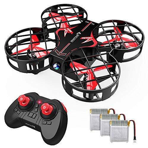 SNAPTAIN H823H Plus Mini Drone per Bambini, Funzione Lancia & Vola, Quadricottero Funzione Hovering, 3D Filp, velocità Regolabile, modalità Headless,...