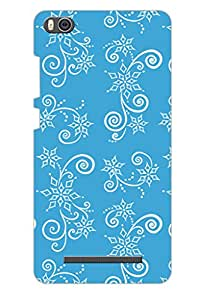 AMAN Images For Drawing 3D Back Cover for Xiaomi Mi4i