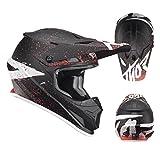Thor Sector Hype Motocross Enduro MX Crosshelm schwarz grau L