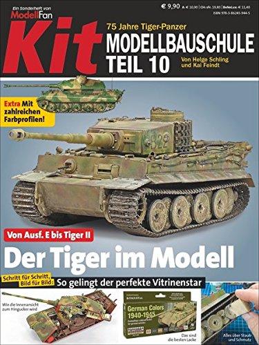 Preisvergleich Produktbild Kit 10 – 75 Jahre Tiger – Der Tiger im Modell