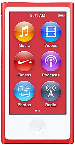 ipod nano red 8th generation  available at amazon for Rs.24202