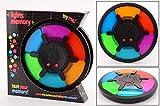 Smart Planet Memory-Spiel XL mit Licht & Geräusch für Kinder zum Spielen und Konzentration fördern - je Besser desto schwieriger - die Herausforderung