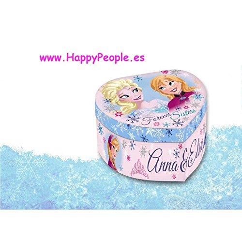 Disney Frozen 11,5x 12,5x 8,5cm Herz Geformt Schmuck Box, Baby Rosa (Karton-heart Shaped Box)