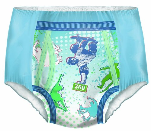 Dry Nites Pyjama Unterhosen Boy 8-15 Jahre, 3er Pack (3 x 9 Stück) - 3