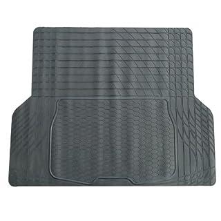Unitec 74913 KFZ-Kofferraummatte, schwarz, zuschneidbar