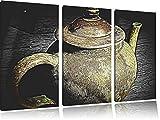 klassische alte Teekanne aus Keramik schwarz/weiß Spezial 3-Teiler - Best Reviews Guide