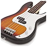 Guitare Basse LA par Gear4music Sunburst