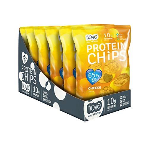 Protein Bites Protein Chips - 6x30g Cheese