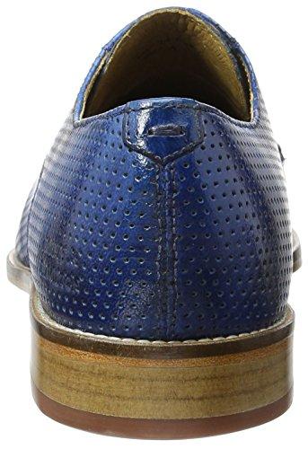 Melvin & Hamiltonmartin 1 - Chaussures À Lacets Pour Hommes (venice Perfo / Mid Blue / Ls)