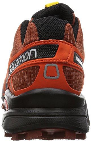 Salomon Speedcross 3, Chaussures de Running Compétition Homme Rot (Deep Red/Tomato Red/Black)