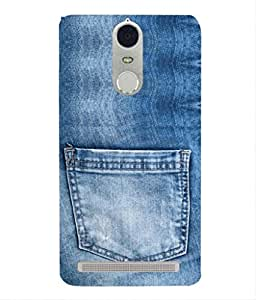 For Lenovo K5 Note-Livingfill- Denim jeans pocket Printed Designer Slim Light Weight Cover Case For Lenovo K5 Note(A Beautiful One of the Best Design with a Classic Theme & A Stylish, Trendy and Premium Appeal/Quality) (Red & Green & Black & Yellow & Other)