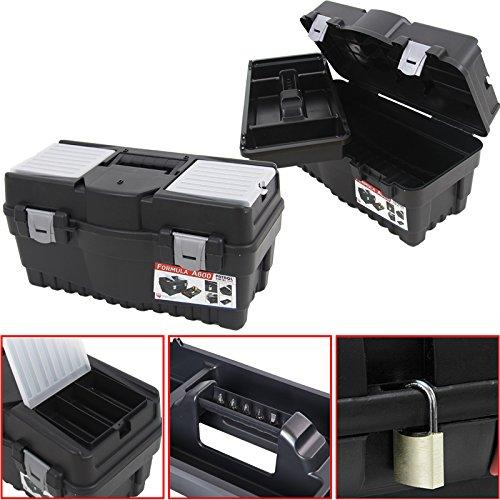 Preisvergleich Produktbild Patrol Group SKRA600FCZAPG001 Werkzeugkoffer Formula A 600 Werkzeugkiste Angelkoffer, schwarz, 55 x 27cm
