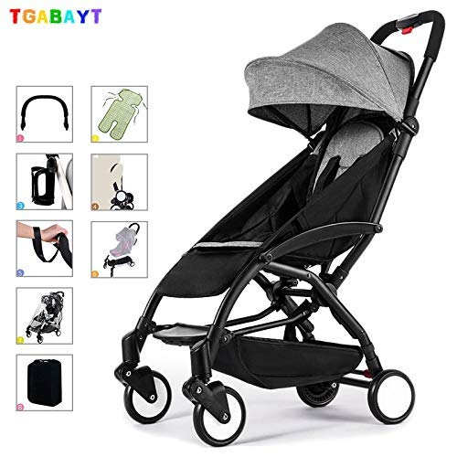 Buycrafty Original Yoya Lightweight Stroller can sit&Lie 175 Degree Folding Umbrella Trolley Ultra-Light Baby car Portable on The Airplane
