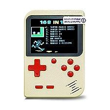 InsideOut Mini Game Boy 8 bit Pantalla a Color clásica   168 Juegos emblemáticos Retro Vintage Nostalgia 90   Listo para Usar   Tendencia 2018