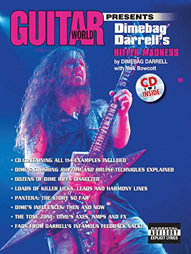 Guitar World Presents Dimebag Darrell's Riffer Madness: Book & CD por Dimebag Darrell