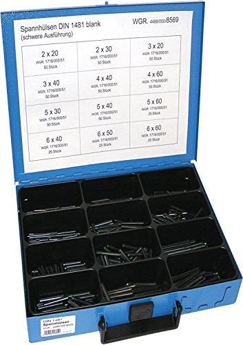 Dresselhaus Sortimente Spannhülsen DIN 1481, 1 Stück, 0/4499/000/8569/06