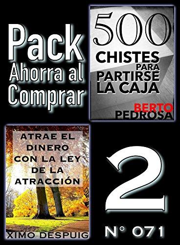 Pack Ahorra al Comprar 2 (Nº 071): Atrae el dinero con la ley de la atracción & 500 Chistes para partirse la caja