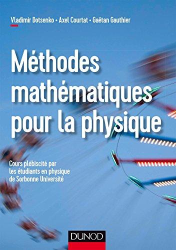Méthodes mathématiques pour la physique par Vladimir Dotsenko