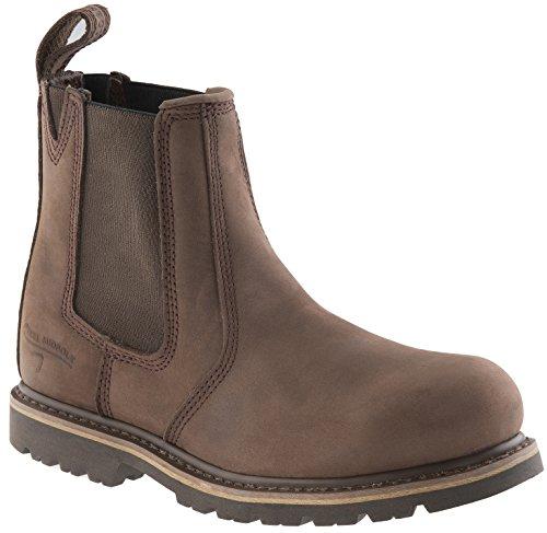 Buckler 1 B1150SM Buckflex Sicherheit Arbeitsstiefel Schokolade Öl (Größen 4-13) Anbieter Boot (8) -
