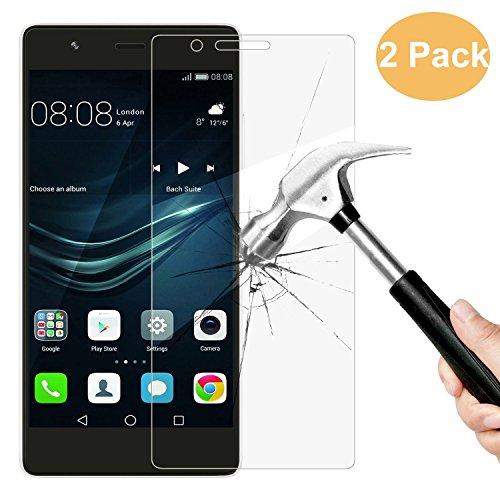 2x Huawei P9 Lite Pellicola Protettiva, menggood Huawei P9 Lite Pellicola Protettiva ultra resistente in vetro temperato per Huawei P9 Lite Vetro con Durezza 9H Trasparenza ad alta definizione