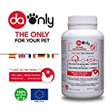 Collagen Cat & Dog joint supplements with chicken flavour, anti-inflammatory + Magnesium, Vitamin C & D, healthy joints for dogs and cats, hydrolysed collagen, DAONLY, 180 tablets, healthy joints dog food supplement (Chicken, 180)
