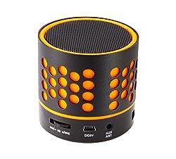 Zebronics ZEB-DOT Bluetooth wireless Speaker with built in FM / USB /SD Card Slot (Orange)