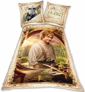 The Hobbit housse de couette 140*200 cm + taie d'oreiller 65*65 cm