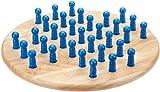 Philos 3301 Puzzle Games Solitaire, Big, Light Brown