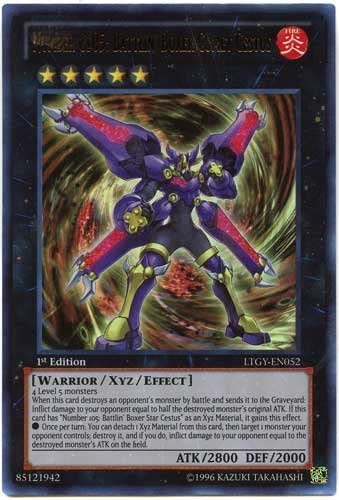 Yu-Gi-Oh! - Number C105: Battlin' Boxer Comet Cestus Cestus Cestus (LTGY-EN052) - Lord of the Tachyon Galaxy - 1st Edition - Ultra Rare by Yu-Gi-Oh! | La Qualité  1303bb